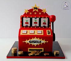 Gâteau machine à sous - Slot machine cake