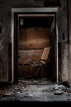 Verden Psychiatric Hospital - Ancient wooden wheelchairs and rusted oxygen tents lined the walls down here, permanently wet from leaking steam pipes that hissed in distant passages.