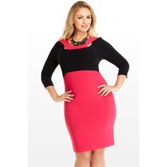 9/14/14  Brand/Designer: Fashion To Figure Shoulder: 3/4 Sleeves Tank Embellishments: Colorblocking Cutout Fitted Size Category: Plus Size