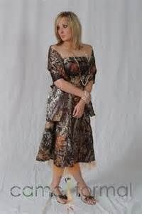 Camo Mother Of The Bride Dresses