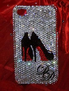 Bling Cell Phone Covers : Swarovski Crystal iphone Cell Phone Covers by The Dazzle Diva... too cute!!