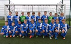 Glossop North End Juniors under 10's sponsored by Glossop Caravans
