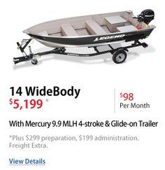 14 Widebody Aluminum Fishing Boats, Best Boats