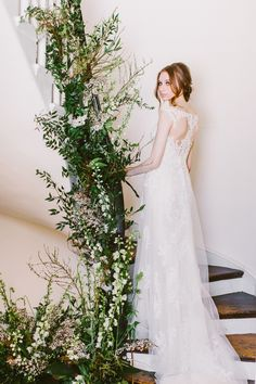 Drool worthy wedding gowns we can't stop looking at. This lace wedding dress is perfect for brides on a budget. Alexis by #RebeccaIngra. http://ruffledblog.com/drool-worthy-wedding-gowns-we-cant-stop-looking-at photo Redfield Photography