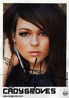 Pop Star Cady Groves Autograph Hand Signed Photo - Rumored Affair With Blake Shelton - TnTCollectibles