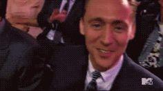 You got hugged by tom