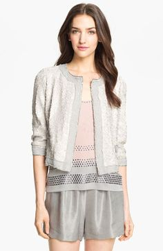 Silver & Sequin Blazer? Yes please.