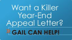 Want a Killer Year-End Appeal Letter?  Writing a donor-centered annual-giving letter