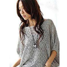 Short Mujer suéter manga Dolman – EUR € 14.43