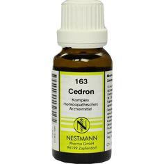 CEDRON KOMPLEX Nr.163 Dilution:   Packungsinhalt: 20 ml Dilution PZN: 00185198 Hersteller: NESTMANN Pharma GmbH Preis: 3,84 EUR inkl. 19…