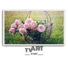 Samsung TV Frame Art Flower 4k Digital Download Flowers Artwork Oil Painting Roses for samsung frame tv art flowers #samsungframetvart #samsungframetv #frametvart #theframetv #samsungtv #artframetv #frametv #samsungtvframe #samsungarttv #tvframeart #samsungtvart #framearttv Art Pictures, Art Images, Frame Tv, Art Store, Framed Art, Floral Wreath, Roses, Samsung, Digital