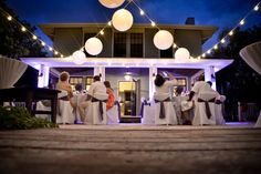 Florida Beach House Wedding Reception At The Coquina Haven By Www Floridabeachhouseweddings