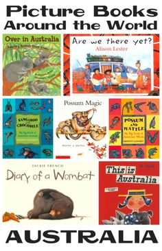 Picture Books about Australia from @YouthLiteratureReviews
