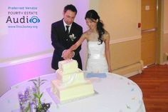 The ceremonial cutting of the wedding cake... http://www.discjockey.org