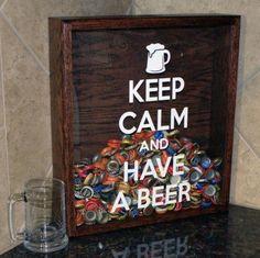 Beer cap decoration