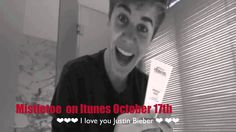 Justin Bieber A message thanking this fans and about his 2 cd that will . Justin Bieber, I Love You, My Love, Itunes, Fans, Messages, Videos, Youtube, Fictional Characters