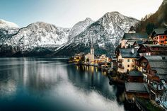 Winter time in Hallstatt by Legends of the Winter Photography Travel Pictures, Cool Pictures, Cool Photos, Landscape Photos, Landscape Photography, City Photography, Winter Photography, Hallstatt, Winter Time