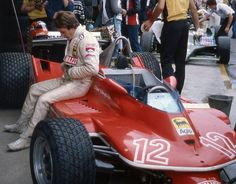 Gilles Villeneuve 1979 Imola