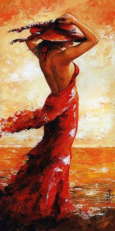Hot Breeze #5 by Emerico Imre Toth - Acrylic On Hardboard -  with Pin-It-Button on FineArtAmerica