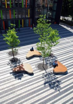 Town Hall Square, Solingen, Germany by Scape Landschaftsarchitekten. Click image for full profile and visit the slowottawa.ca boards >> https://www.pinterest.com/slowottawa/boards