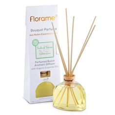 Le bouquet parfumé bio feuilles de Verveine Florame diffuse des fragrances citronnées et pétillantes pour une ambiance pleine de pep's!