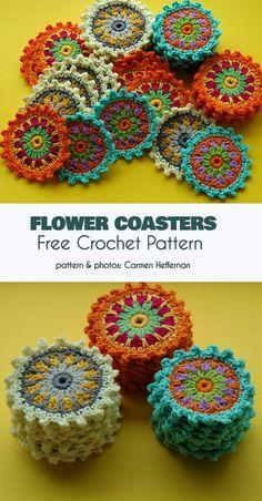Crochet And Knitting Patterns - Latest ideas information Crochet Home, Crochet Gifts, Crochet Doilies, Crochet Flowers, Crochet Stitches, Knit Crochet, Thread Crochet, Easy Knitting Projects, Crochet Projects