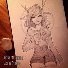Laura Brouwers @cyarine @Calicofawn 's ch...Instagram photo | Websta (Webstagram)