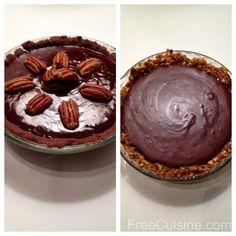 Gluten Free Dairy Free Chocolate Ganache Tarts | Free Cuisine Recipes