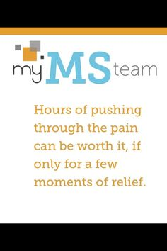 Join MyMSTeam.com, the social network for people living with multiple sclerosis.