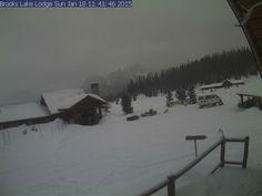 Togwotee Pass Brooks Lake Lodge Webcam