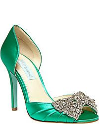 Betsey's got a line of Bridal Shoes :D