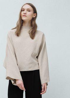 Pullover mit fledermausärmeln -  Damen | MANGO