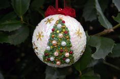 Sequin ornament Christmas ornament Christmas