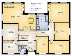 Bungalow Grundrisse 5 Zimmer Mit Garage In 2019 Grundriss