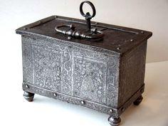 16th century Nuremberg Iron Jewel box circa 1550