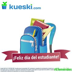 ¡Feliz día a todos los estudiantes! #DíaDelEstudiante