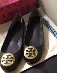 4290d570f8b Tori Burch Benton Ballet Flat  fashion  clothing  shoes  accessories   womensshoes  flats  ad (ebay link)