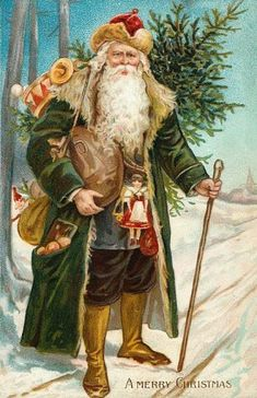 Santa in green                                                                                                                                                                                 More