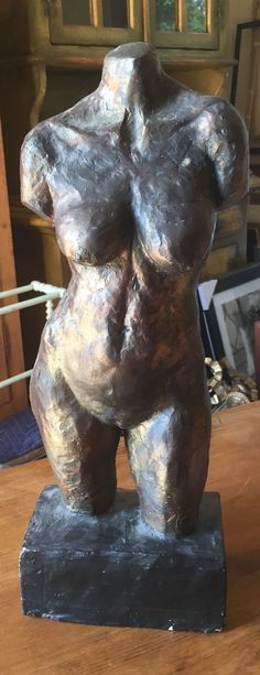 Mid Century Lady Nude Sculpture