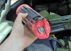BodgeUps: Red Gas Can Explodes In Car Hot Cars, Airsoft, Popular, Canning, Personalized Items, Red, Bags, Handbags, Most Popular