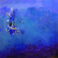 Hiroshi Matsumoto Artwork Title: Bluescape 122008. Contemporary artist…