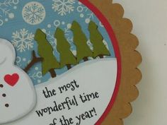Cricut Doodlecharms Cartridge - 12 DAYS OF CHRISTMAS CARD ELEVEN 2015 created by: Mary at CardzTV