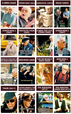 Stan Lee.  His cameo in The Amazing Spiderman had me roaring with laughter.