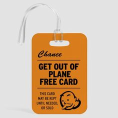 Jail Free - Luggage Tag