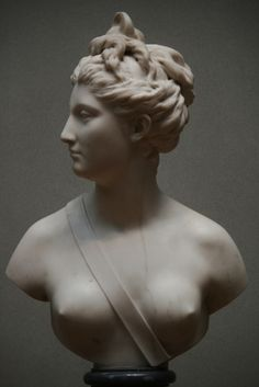 Diana, marble, 1778, Jean-Antoine Houdon (French, 1741-1828), National Gallery of Art, Washington DC