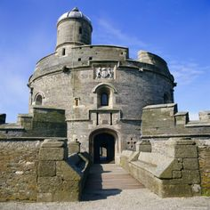 St. Mawes castle - Cornwall, England - built by King Henry the VIII