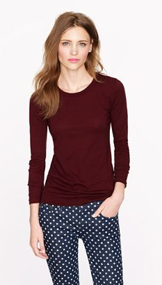 So simple, so perfect for fall. J.Crew fall '13