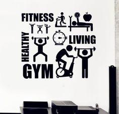 F6-Sport-Motivation-Fitness-Gym-Wall-Mural-Wall-Decals-Vinyl-Stickers-Home-Decor-font-b-Life.jpg (500×480)