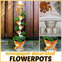 DecoratedFlowerpots wesens-art.blogspot.com