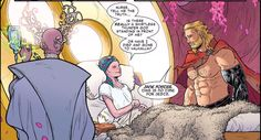 Jane Foster aka (All new)Thor and Thor Odinson